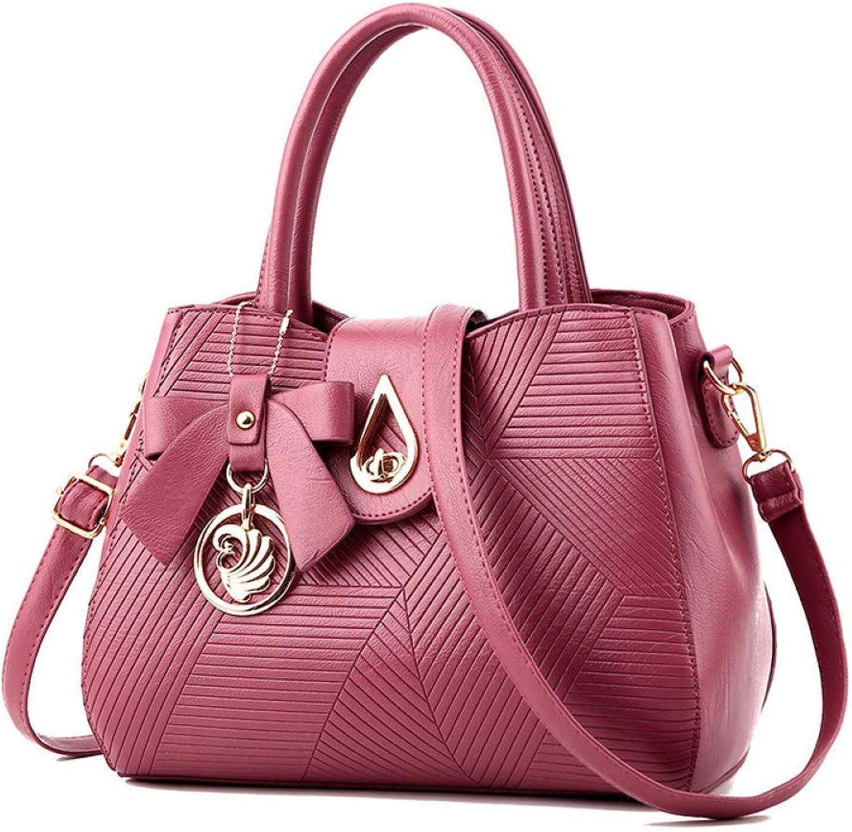 LHKFNU Women Bag Handbag Floral Print Shoulder Bags Party Evening Dress Ladies Good PU Leather Tote Bag