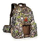 Rook Outdoors Large Hunting Backpack - Hunting Backpack with Rifle Holder, Unique Camo Design and Hunter Safety Flag - Durable Rifle Carrying Backpack