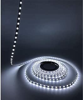 LEDMY DC12V Flexible Led Strip Light String Light Led Tape SMD5050 300LEDs IP20 String Light Cool White 6000K 16.4FT/5M (72 Watts 60LEDs /M)