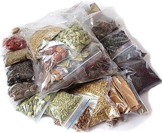 Ethnic choice Leaves, Ajwain, Kali Elaichi, Black Pepper, Green Cardamom, Chironji, Cinnamon, Cloves, Jeera, Dry Ginger, S...