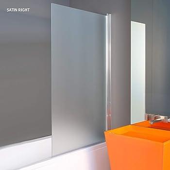1400 x 800 mm Vidrio SATINADO Partición de Ducha Para el Baño ...