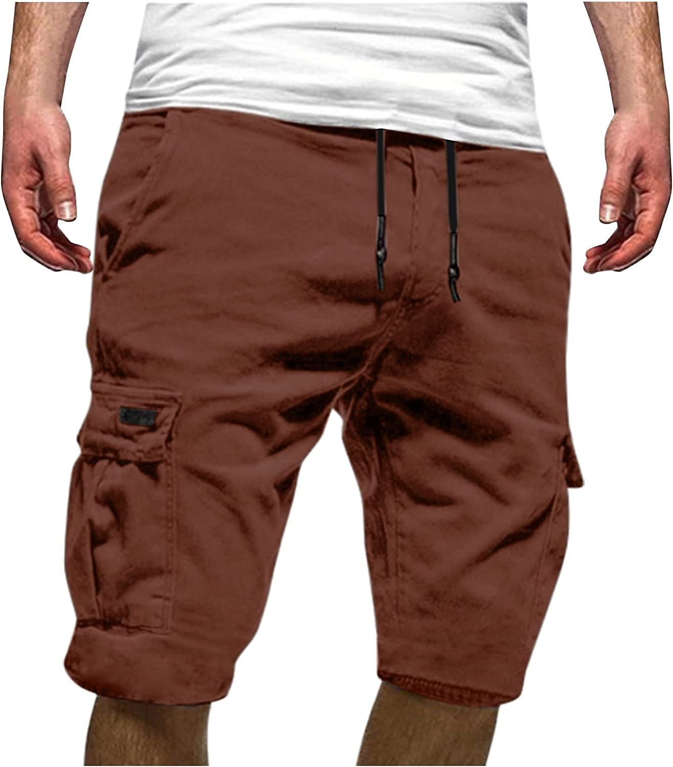 Men's Summer Casual Plus Size Tooling Sports Shorts
