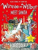 Winnie and Wilbur Meet Santa with audio CD (Winnie & Wilbur)