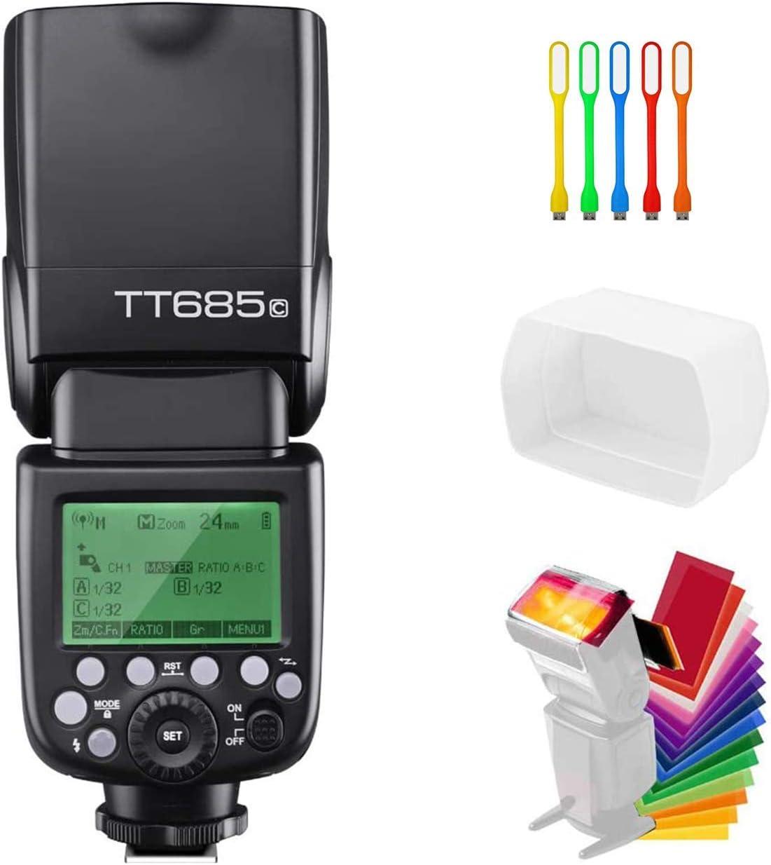 Godox TT685C E-TTL 2.4G GN60 High-Speed Sync 1/8000s Wireless Ma
