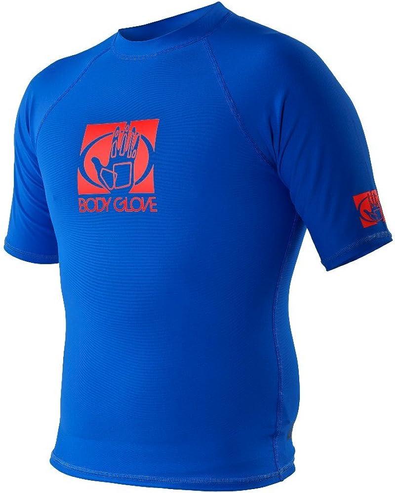 Body Glove Wetsuit Co Men's Basic Fitted Short Arm Rashguard