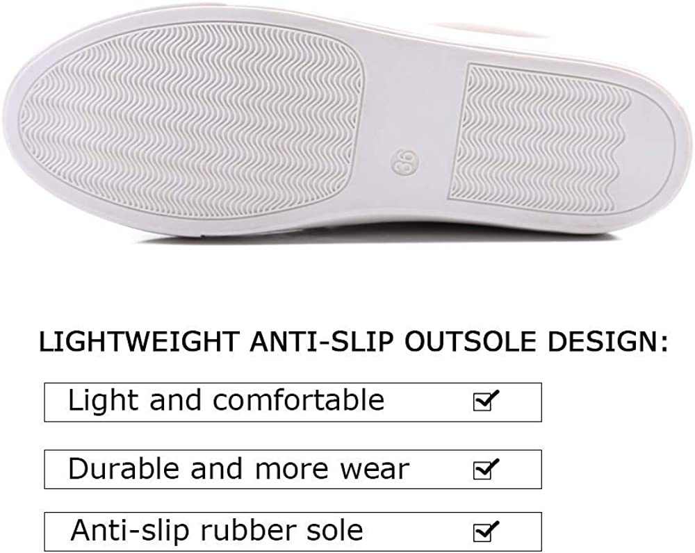 9, Grey Women s Fashion Sneakers Perforated Slip on Flats Comfortable Casual Flat Walking Shoes