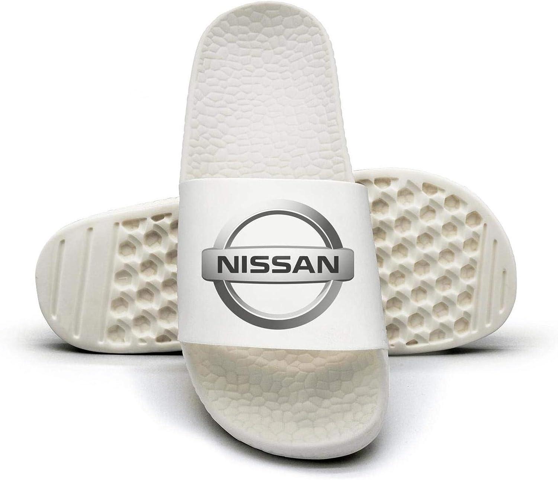 EIGKASL Printed Non-Slip Slippers Slides flip Flop Sandals Nissan-Symbol-Logo-Emblem-Summer Casual for Womens
