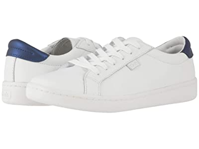 Keds Ace Leather (White/Navy Leather) Women