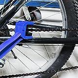 REY Cepillo Limpia Cadena de Bicicleta o Moto, Desengrasar Cadenas, Herramienta Multiusos