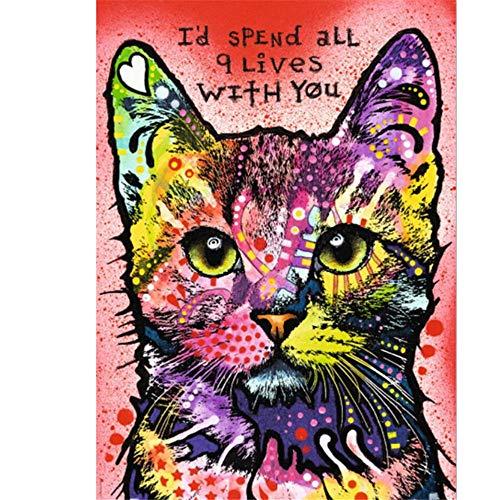 KGHJKG (Animal cat) Rompecabezas Clásico De Madera Para Niños Adultos Rompecabezas Diy Juego De Rompecabezas Rompecabezas Manualidades Divertidas-1500 tablets