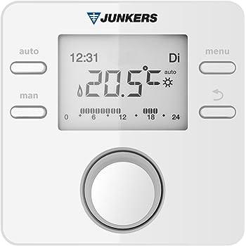 Junkers Bosch Termostato modulante Mod. CR10 H: Amazon.es ...