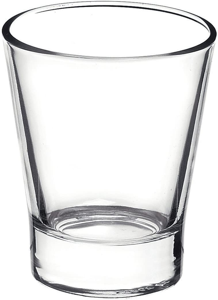 Safety and trust Bormioli Rocco Caffeino Espresso Shot OFFicial Glasses Clear Set of 6
