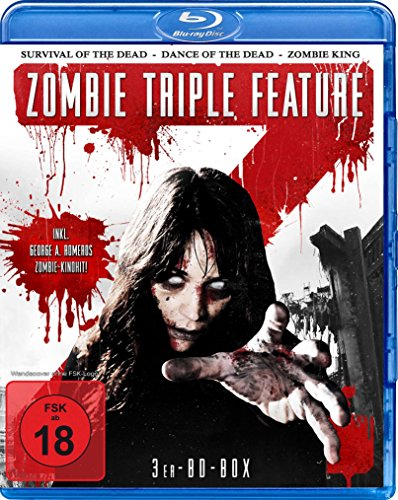 Zombie Triple Feature : George A. Romeros\' Survival Of The Dead - Dance Of The Dead - Zombie King - 3Blu-ray Box