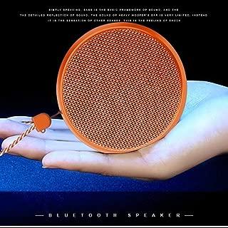 AJJA Orange wireless Bluetooth speakers outdoor sports mini portable stereo subwoofer