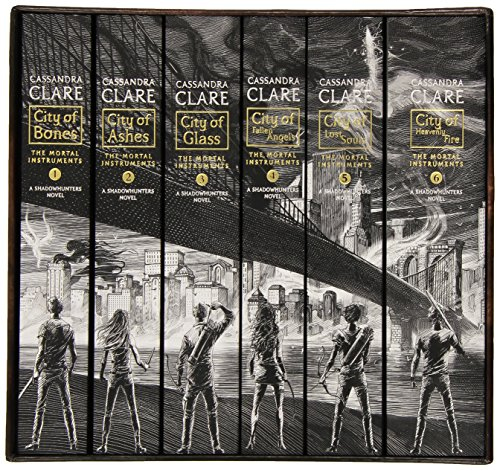 The Mortal Instruments, the Complete Collection(City of Bones/ City of Ashes/ City of Glass/ City of Fallen Angels/ City of Lost Souls/ City of Heavenly Fire)