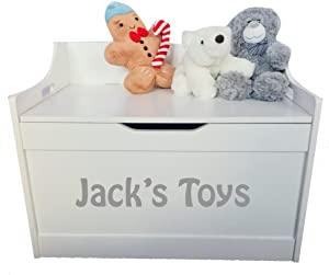 Little Secrets Children s Wooden Toy Storage Box with Personalised Name  Gift Present