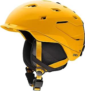 Smith Optics Quantum Adult Mips Ski Snowmobile Helmet - Matte Black Charcoal/X-Large