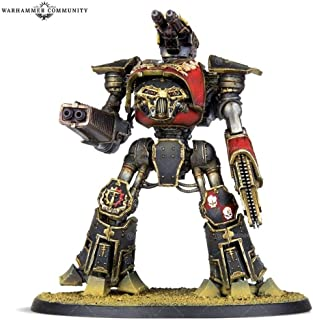 Games Workshop Adeptus Titanicus: Reaver Titan with Melta Cannon and Chainfist