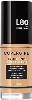 Covergirl TruBlend Matte Made Liquid Foundation, True Ivory