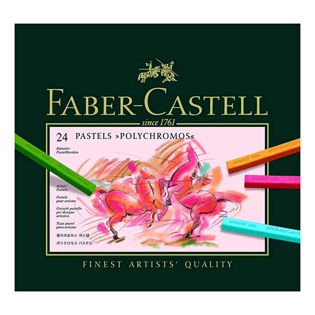 Faber-castell Polychromos Pastels - Set Of 24