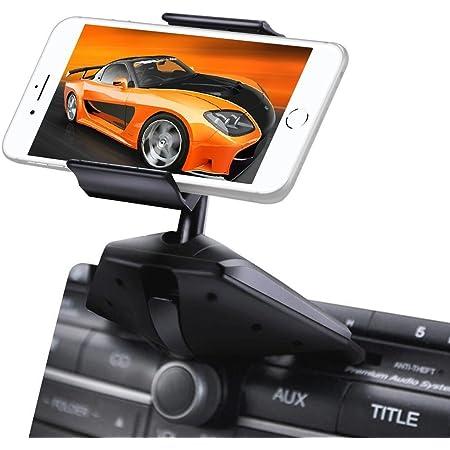 Ipow Universal One Touch Installation Handyhalterung Cd Schlitz Autohalterung Kfz Halter Für Smartphone Wie Iphone 6 Plus 6 5 Samsung Galaxy S7 S6 S5 Mit 3 Abstimmscheibe Elektronik