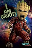 Close Up Guardians of The Galaxy Vol. 2 Poster I am Groot