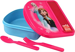 Disney Frozen Food Storage Container w/Fork & Spoon By Zak!