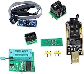 KOOBOOK 1Set CH341A 24 25 Series EEPROM Flash BIOS USB Programmer+SOIC8 SOP8 Test Clip+SPI Flash 1.8V Adapter+SOP8 SOIC8 t...