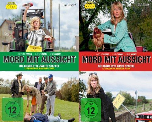 Mord mit Aussicht - Staffel 1+2 Set (8 DVDs)