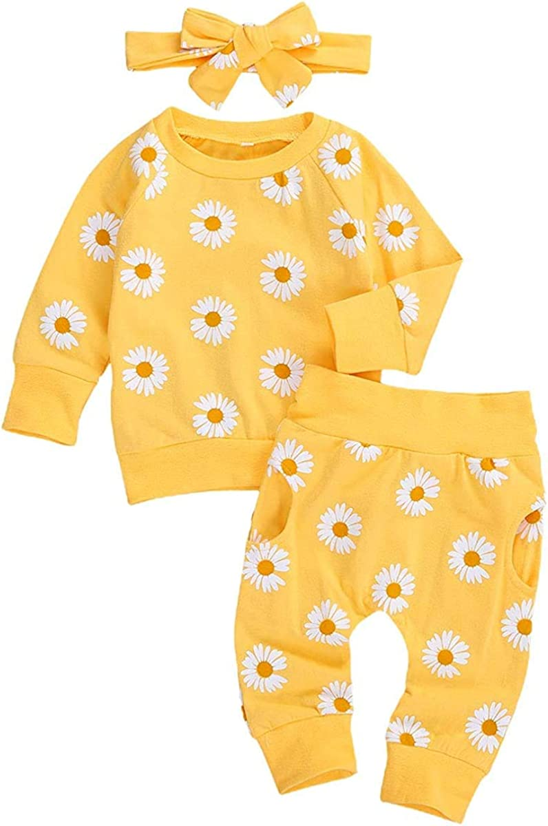 Infant Bargain sale Baby Girl Fall Outfits Daisy Blouse Long Top Overseas parallel import regular item Shirt Sleeve