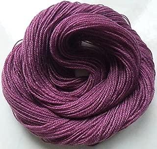 FOUR PACK Soft Purple Plum Fingering Weight Sock Knitting Crochet Yarn