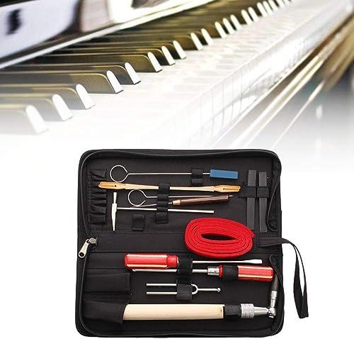 tienda de pescado para la venta LaDicha 13Pcs Piano Profesional Tuning Herramienta De Mantenimiento Kits Llave Llave Llave Martillo Destornillador con Caso Us  descuento de ventas