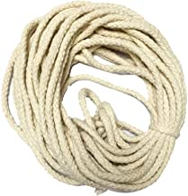 50 Meters (8MM) Cotton Rope Braided for Drying Clothes, Indoor & Outdoor Laundry Clothesline