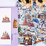 TTBH Cute Pocket Stickers Stationary Set Bookkeeping Decals On Laptop/Decorative Scrapbooking/DIY Stickers Planner57Pcs/Pack
