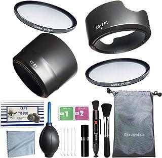 [ 初めての一眼レフに ]カメラ初心者用 入門13点セット [Canon キヤノン EOS Kiss X10 X9i X9 X8i X7i 9000D 8000D 80D 70D ダブルズームレンズキット用] カメラクリーニングキット/レンズフ...