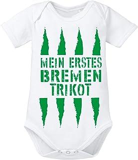 clothinx Mein erstes Bremen Trikot Baby-Body Bio