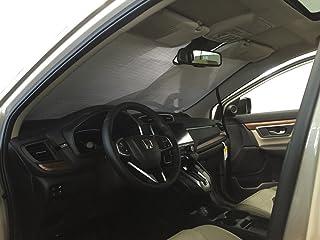 HeatShield, The Original Windshield Sun Shade, Custom-Fit for Honda CR-V SUV w/Sensor 2017, 2018, 2019, 2020, Silver Series