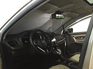 The Original Windshield Sun Shade, Custom-Fit for Honda CR-V SUV w/Sensor 2017, 2018, 2019, Silver Series