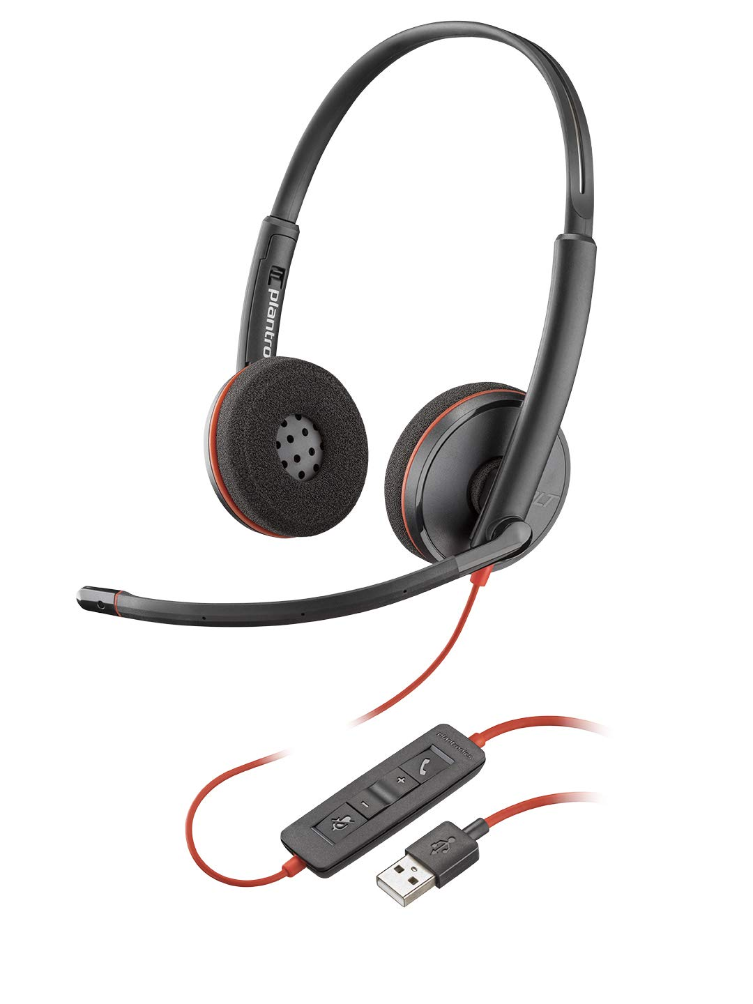Plantronics Blackwire 3220 Headset Wired