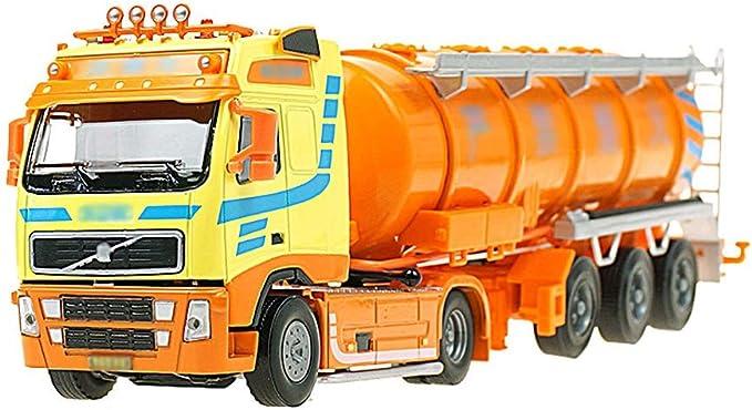 Jantes en Alliage 1:50 semi-remorque camion-citerne Huile Récipient Transporteur modèle de voiture jouets