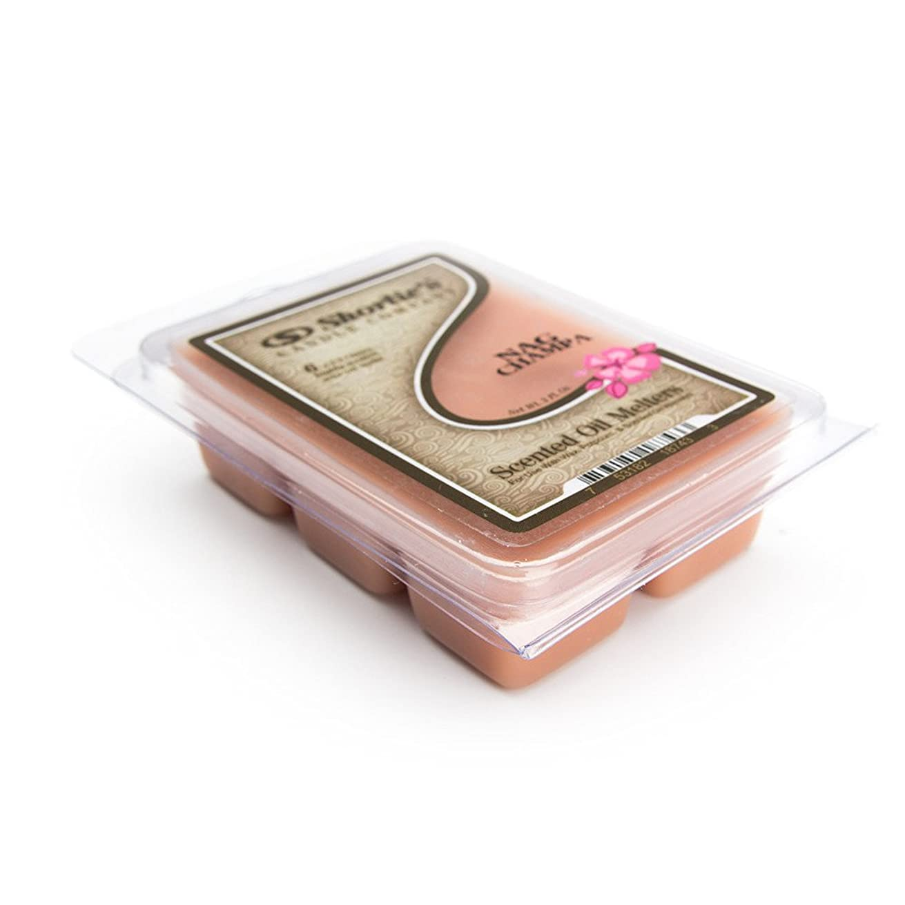 Shortie's Candle Company Nag Champa Wax Melts - 1 Highly Scented 3 Oz. Bar - Made with Natural Oils - Incense & Earth Air Freshener Cubes Collection