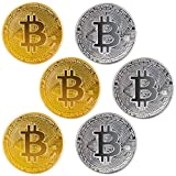 Collectible value: As we all know, the value of bitcoin has been increased rapidly, leading to the production of a lot of raletive items. Our physical bitcoin coin makes the cryptocurrency into reality, making your dream of collect bitcoin come ture....