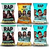 Rap Snacks Potato Chips and Popcorn (Pack of 6) (Migos)