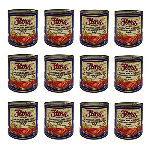 Tomatoes San Marzano DOP by Flora Foods (28 oz.) - 12 pack