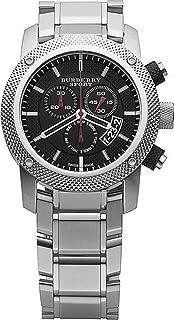 Sport Men's Chronograph Watch Color: Black/Silver