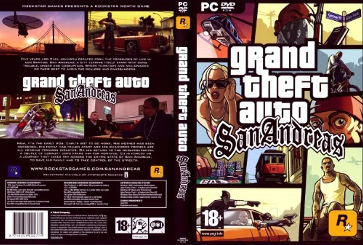 家信じる瞑想するGrand Theft Auto: San Andreas 2nd Edition (輸入版)