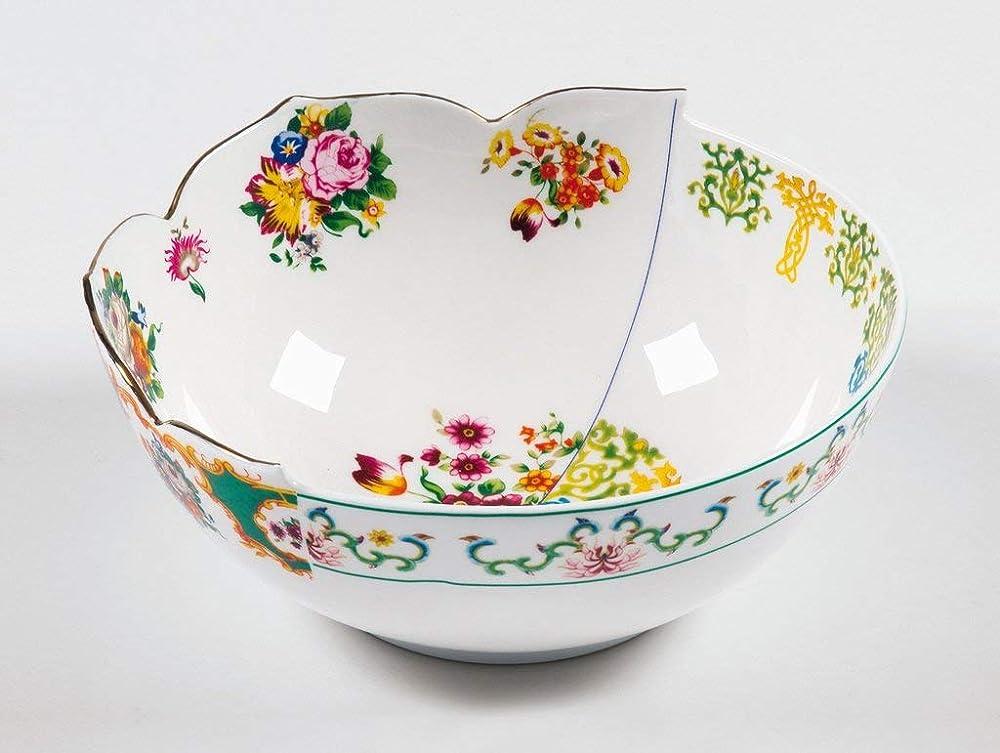 Seletti, insalatiera in porcellana Ø cm.22,5 h.10, hybrid-zaira 124172