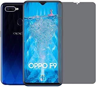 Privacy Screen Protector, Anti Spy Full Adhesive, Touch Accurate, 3D Curve Edge Nano Shield Soft Film for OPPO F9