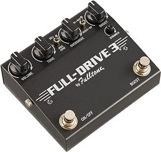 Fulltone FullDrive 3 Overdrive Guitar Effects Pedal