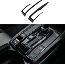 Thenice for 10th Gen Civic ABS Carbon Fiber Style Gear Box Trims Shift Transmission Decoration Stickers for 2016 2017 2018 2019 2020 Honda Civic- Automatic Transmission